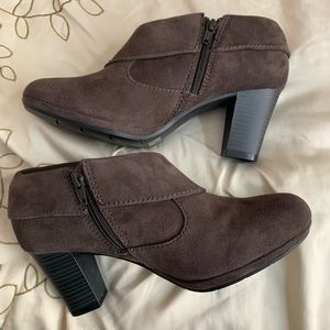 Clarks Brown Kalea Ankle Boots